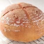 大豆粉入りのくるみパン カンパーニュ風 | 鬼くるみを使ったパン