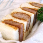 パンが好き!肉も好き!ハムカツとメンチカツのサンドイッチ