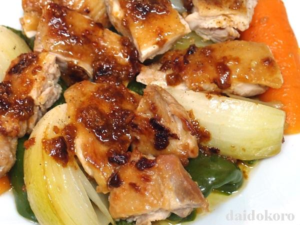 ニンニクしょう油麹漬けの鶏肉