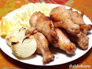 鶏手羽もとニンニクしょう油麹焼き