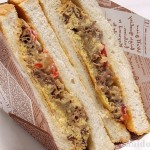 牛丼の具をパンにはさんだら「牛サン」!?