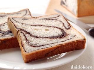 チョコマーブル食パン