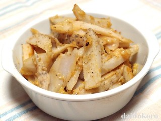 レンコンの塩糀焼き