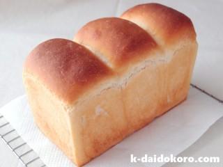 ココナッツオイルの食パン