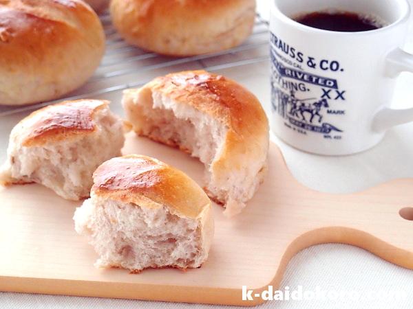 ココナッツオイルを使ったくるみパン