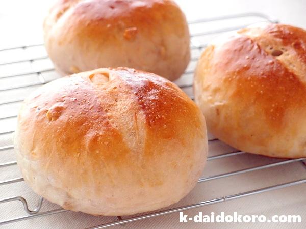ふんわりくるみパン