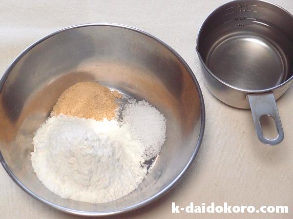 湯種の材料