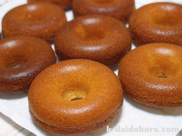 天然酵母で作る焼きドーナツ