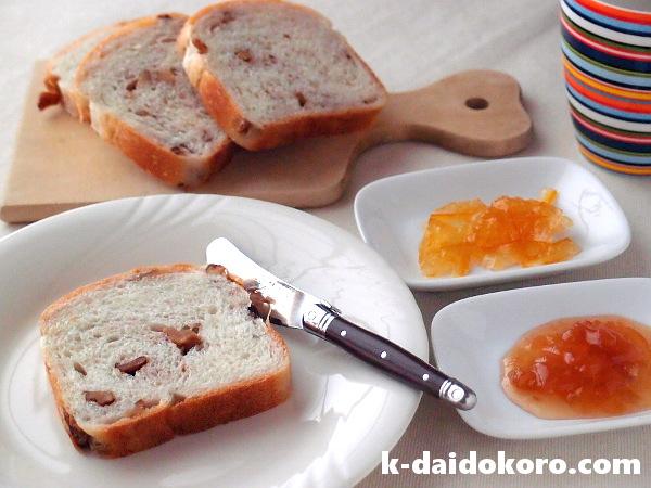 しぶパンのくるみパン