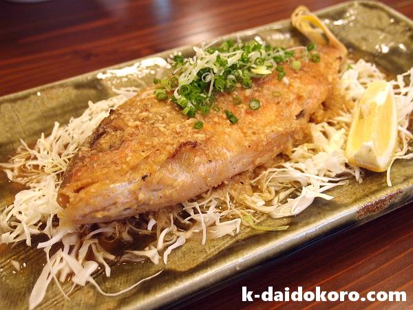 ビタローのバター焼き 魚屋直営Dining 魚々