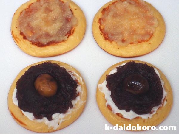 あんパンケーキの作り方