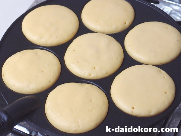 パンケーキの作り方