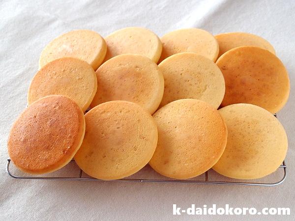 大豆粉と米粉のパンケーキ