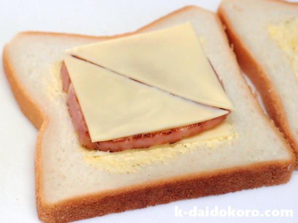 モンテクリストサンドイッチの作り方