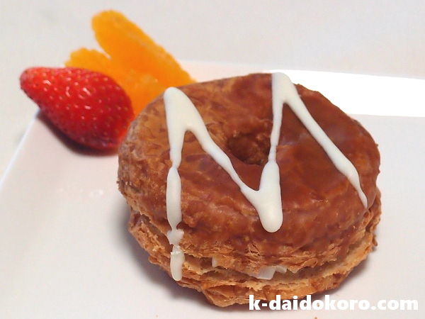 Mr.Croissant Donut メープル&エンゼルホイップ