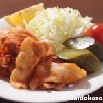 豚ロース肉のマッサソテー | マッサ(MASSA)はパプリカで作ったポルトガルの調味料