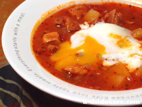 マッサでスープ