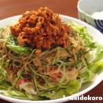 初夏の旬野菜と肉みそのせ | アレンジ冷し中華を楽しもう!