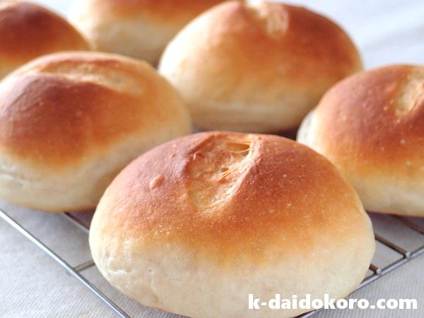 玄米パウダー20%のパン