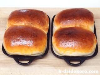 ちょこっと鍋で焼いたパン