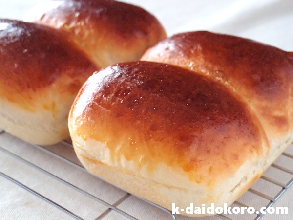 ちょこっと鍋を使って焼いたパン