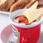 クリームチーズ入りエッグスラット | パパもよろこぶ♪チーズdeおつまみレシピ
