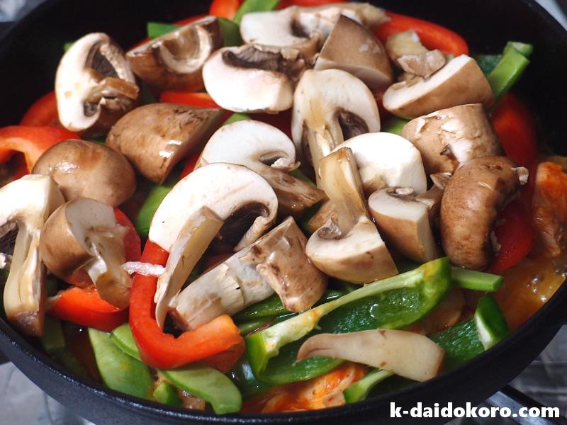 鶏肉のトマト煮込みの作り方