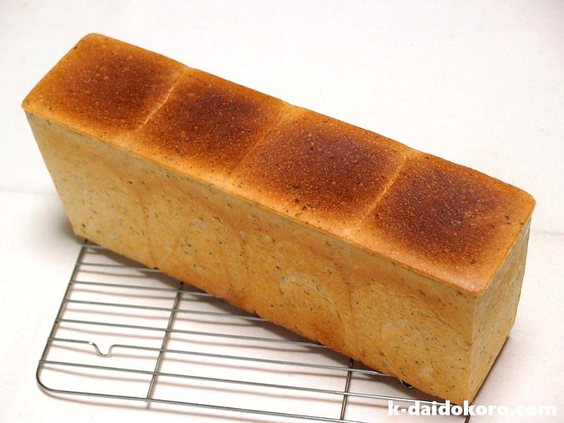 アオサ入り食パン(ハーフサイズ)