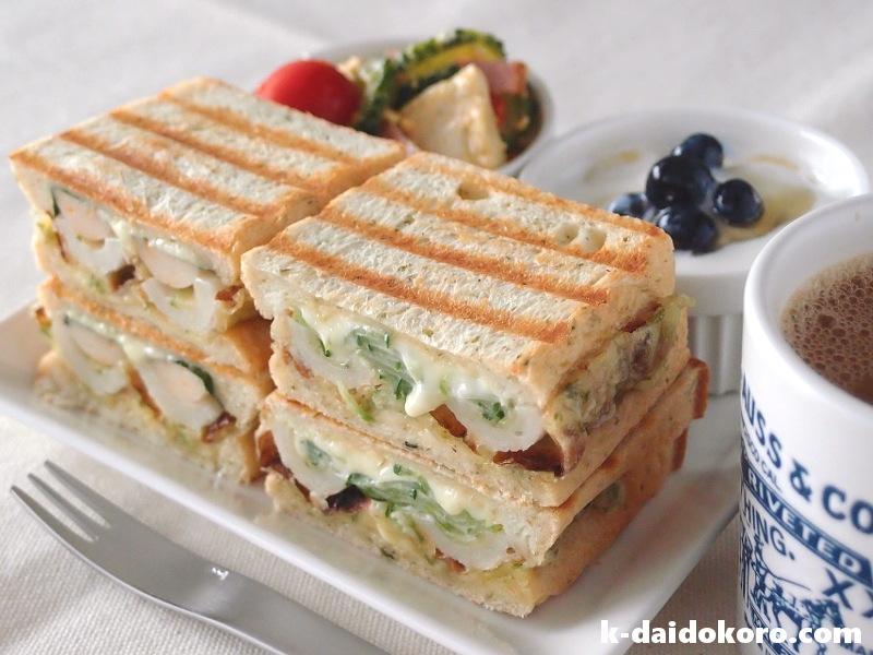 ちくわのサンドイッチ