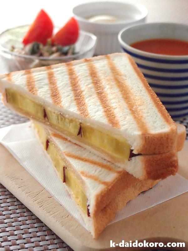 焼いものサンドイッチ