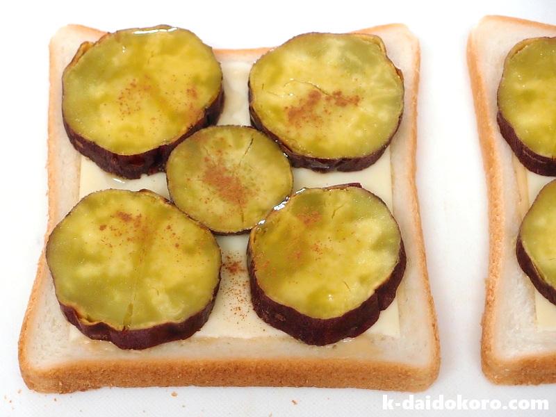 焼いものサンドイッチの作り方