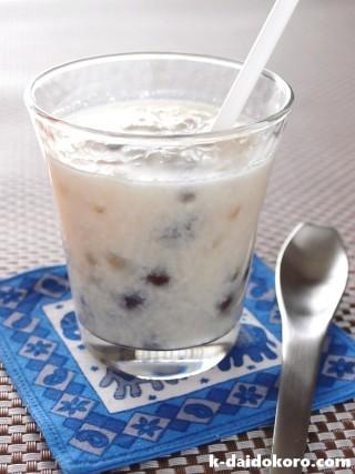 甘酒ココナッツミルク