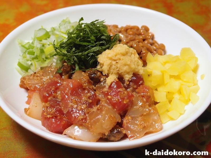 海鮮丼の作り方