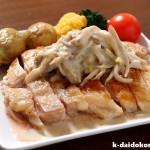 鶏もも肉のソテー 豆乳マスタードソース | カラダよろこぶ♪豆乳レシピ