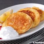 豆乳を使ったフレンチパンケーキ | カラダよろこぶ♪豆乳レシピ