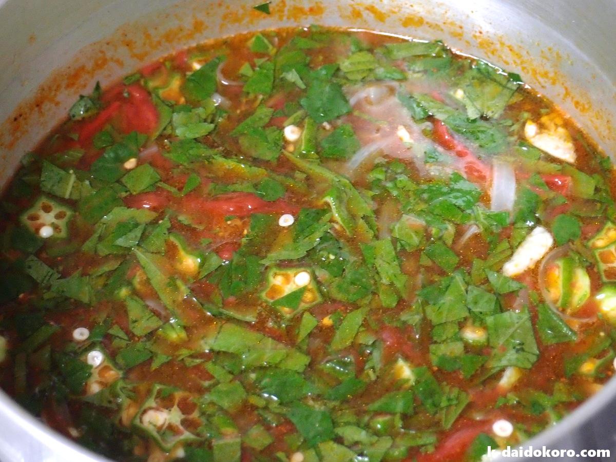 スープの作り方