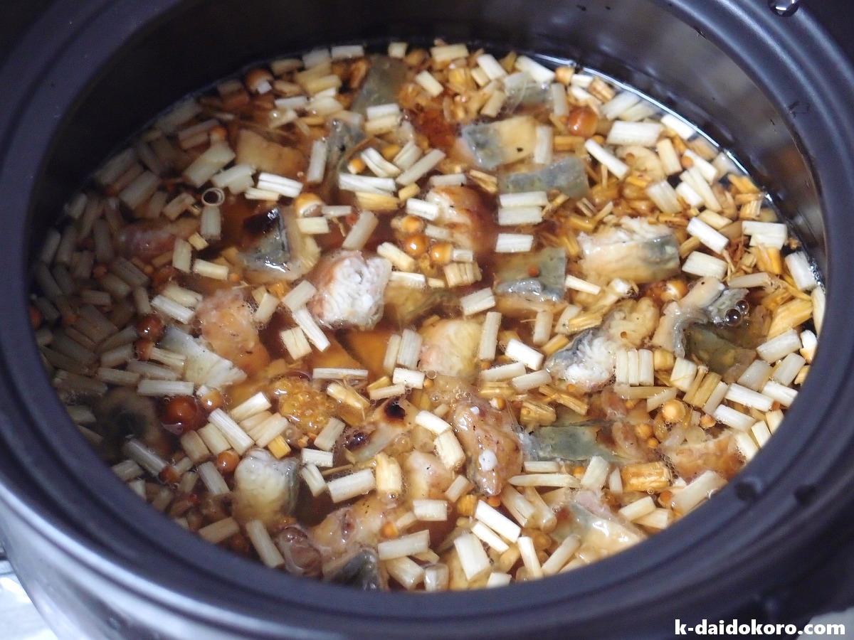 炊き込みご飯の作り方