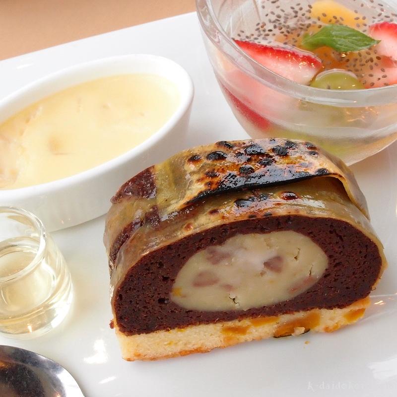 かまぼこのかたちのさつま芋ブラウニー 鈴廣かまぼこの里 汐風カフェ