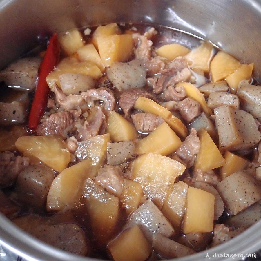 牛スジ煮込みの作り方