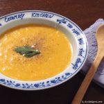 バターナッツの濃厚スープ ~ 味の決め手はベジブロス