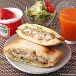 """アジフライのホットサンド ~ """"味""""が良いだけに、パンに挟んでも美味い!?"""