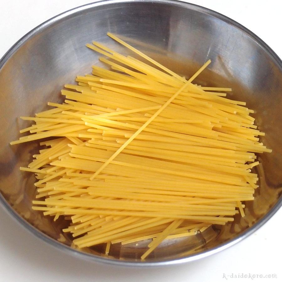 スパゲティ・ドーナツの作り方