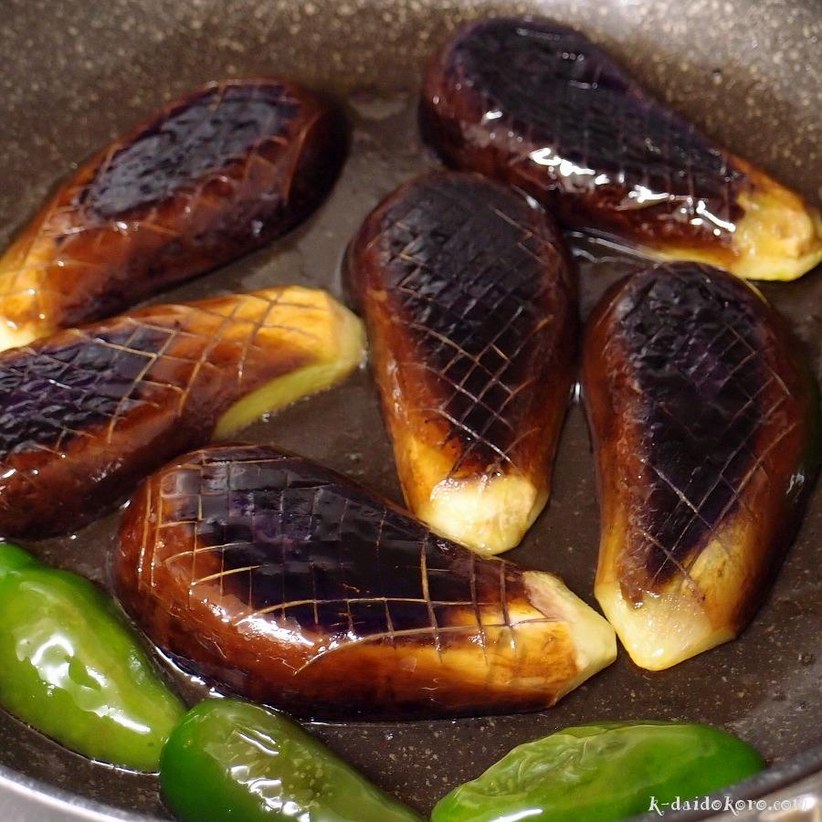 ナスのかば焼き丼の作り方