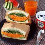 野菜たっぷりのサンドイッチ ~ レシピブログアワード2017 『スパイス部門』