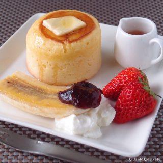 厚焼きホットケーキ