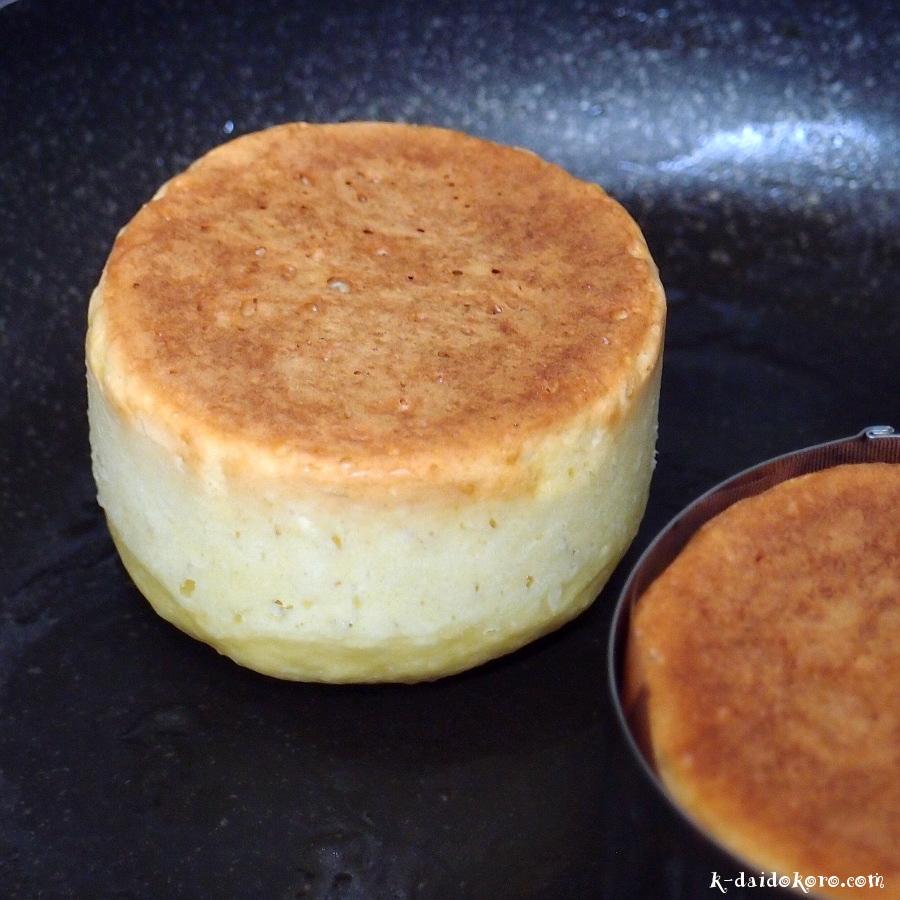 ホットケーキの作り方
