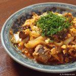 鯖キムチ ~ お手軽、サバ缶レシピ