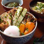 炙り鶏チャーシュー丼 | ミツカン 味ぽん