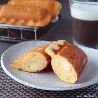 チーズ入りパンケーキ