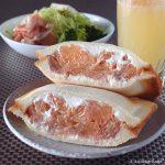 グレープフルーツのホットサンド | フロリダグレープフルーツ